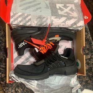 Nike off white presto Black size 10.5
